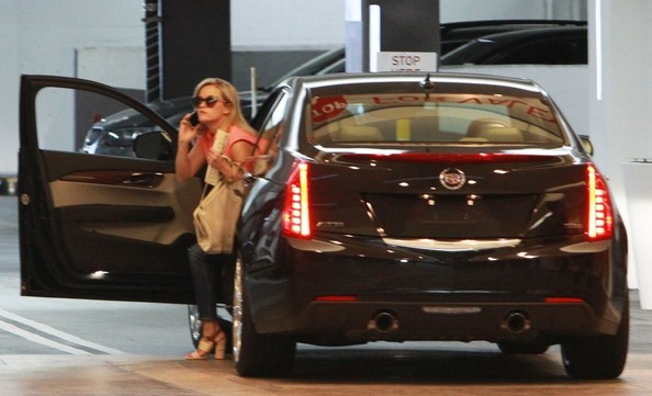 Reese Witherspoon Cadillac ATS