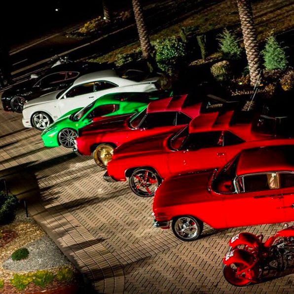 Rick Ross Car Collection