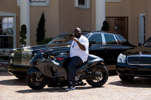Rick Ross Motorcycle