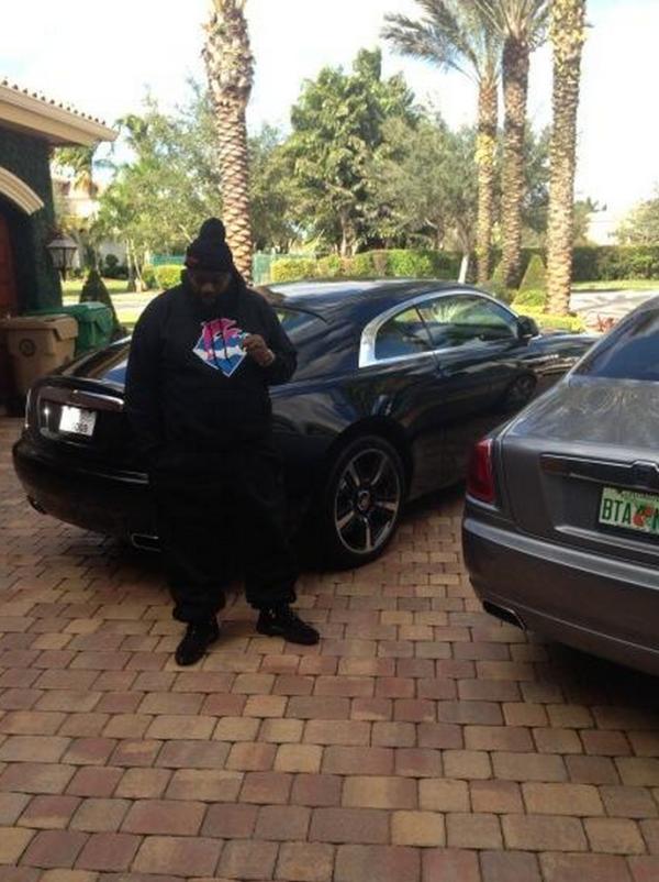 Rick Ross Rolls Royce Wraith