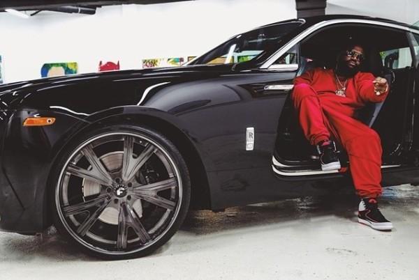 Rick Ross Rolls Royce
