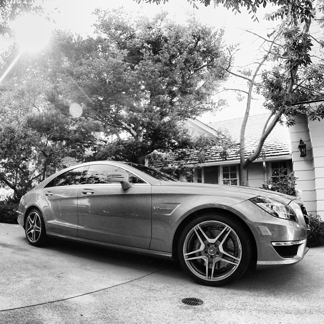 rickie fowlers new mercedes cls 63 celebrity cars blog