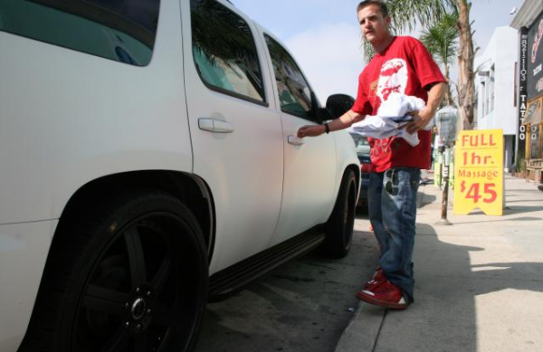 Rob Drydek goes storm trooper with his new Chevy Tahoe