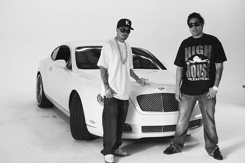 Rob Drydek's White Bentley in Grayscale