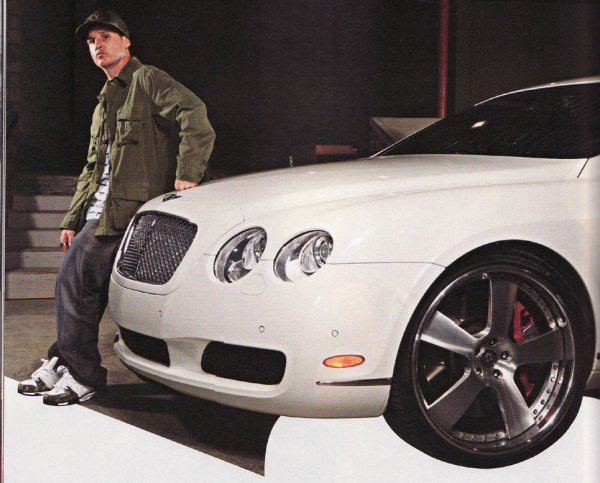 Rob Dyrdek Bentley