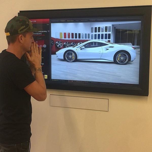 Rob Dyrdek Ferrari 488 GTB