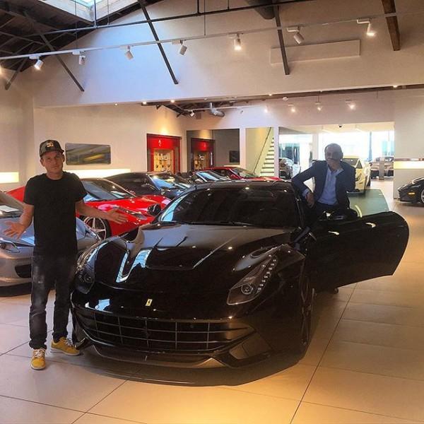 Rob Dyrdek Ferrari