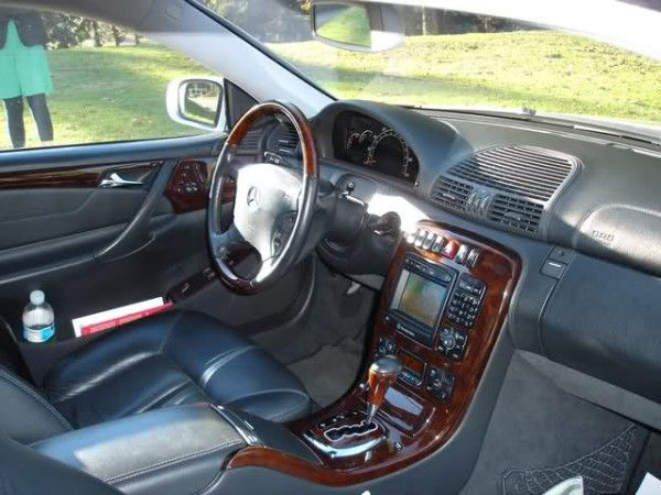 Rob Dyrdek's Mercedes CL Interior