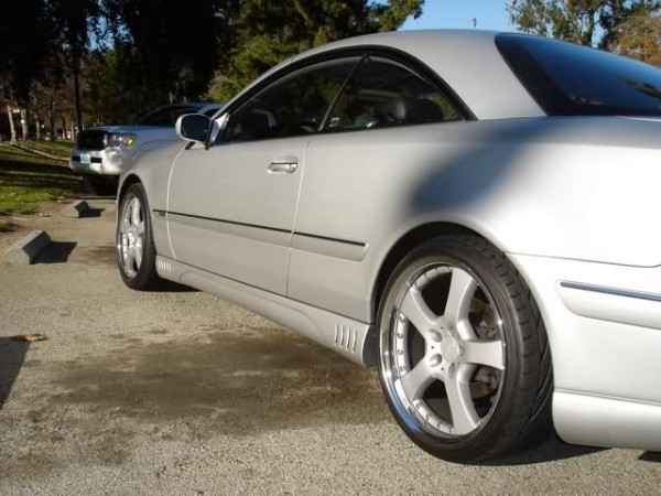 Rob Dyrdek's Mercedes CL Up Close