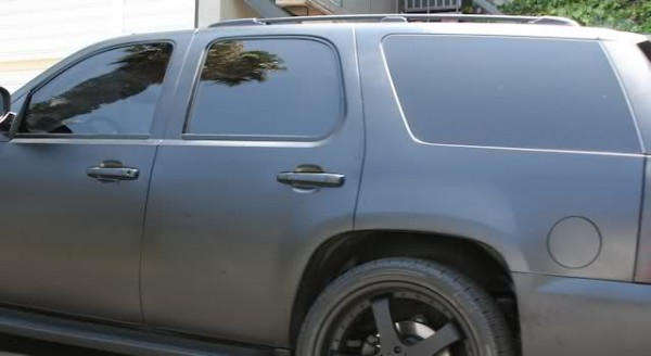 Rob Dyrdek's Murdered-Out Chevy Tahoe