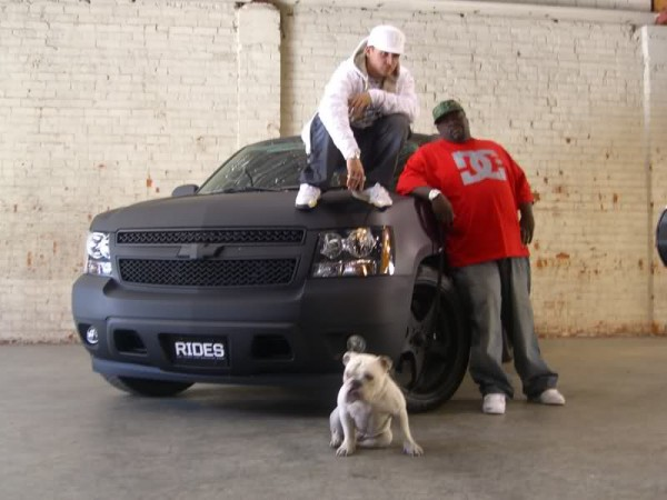 Rob Dyrdek On The  Chevy Tahoe