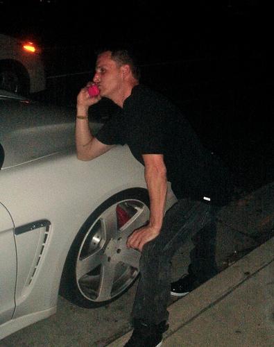 Rob Dyrdek Porsche Panamera