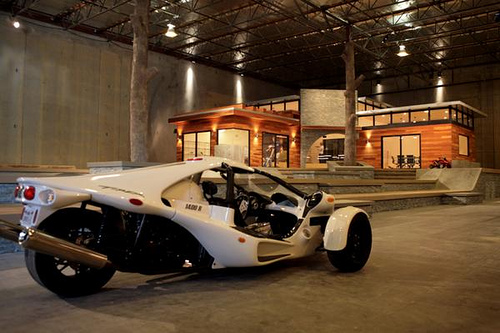 Rob Dyrdek Cars Goes Extreme Storm Trooper in His T-Rex