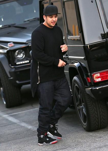 Rob Kardashian Mercedes Benz G Wagon