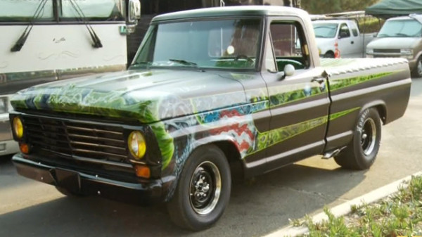 Rob Zombie S Ford F 100r Celebrity Cars Blog