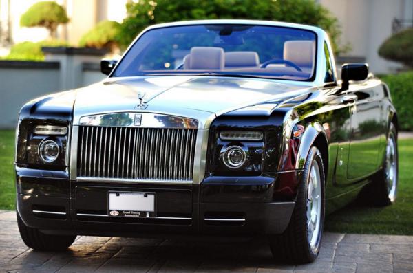 Rober Herjavec Rolls-Royce Phantom Drophead