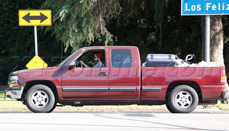 Robert Pattinson Chevy Silverado