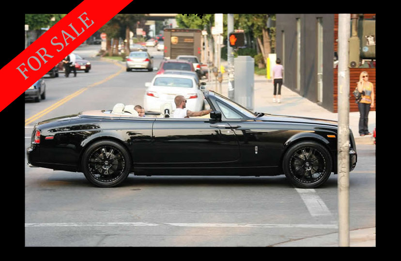 Rolls Royce Phantom Drophead Coupe David Beckhams