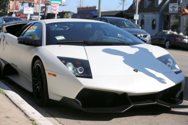 Ron Artest Lamborghini