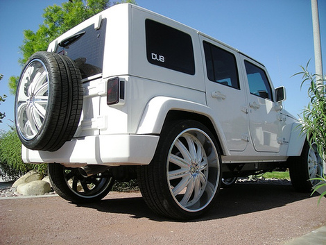 Ryan Sheckler's All-White Jeep Wrangler Unlimited