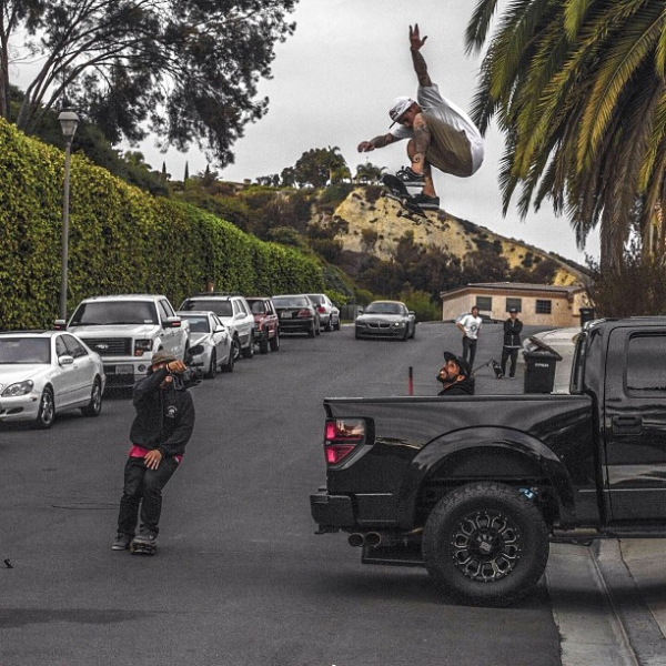 Ryan Sheckler Ford Raptor