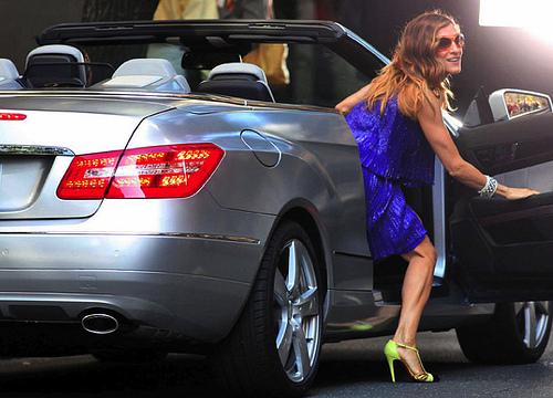 Sarah-Jessica-Parker-Mercedes-Benz-Cabrio