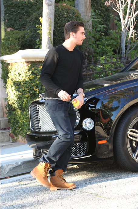 Scott Disick Bentley