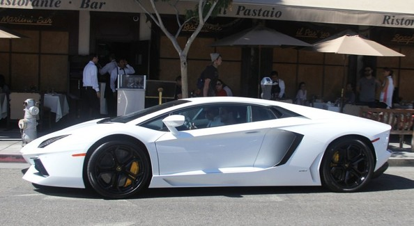 Scott Disick Lamborghini Aventador