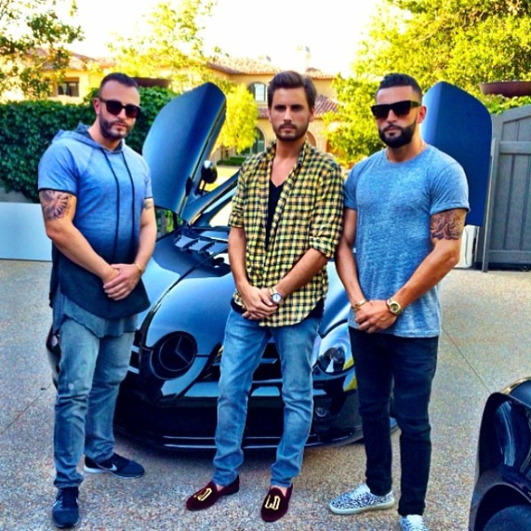 Scott Disick Mercedes SLR