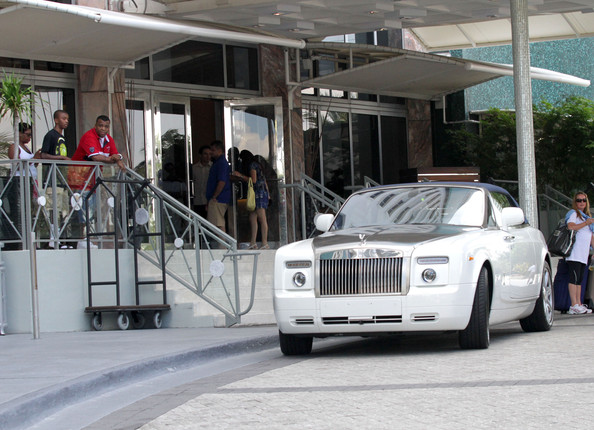 Scott Disick Rolls Royce Phantom