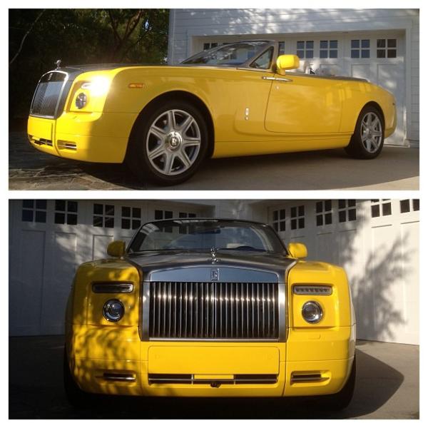 Scott Disick Rolls Royce