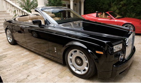 Scott Storch's Rolls Royce Phantom