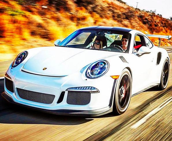 Scott Yancey Porsche GT3 RS