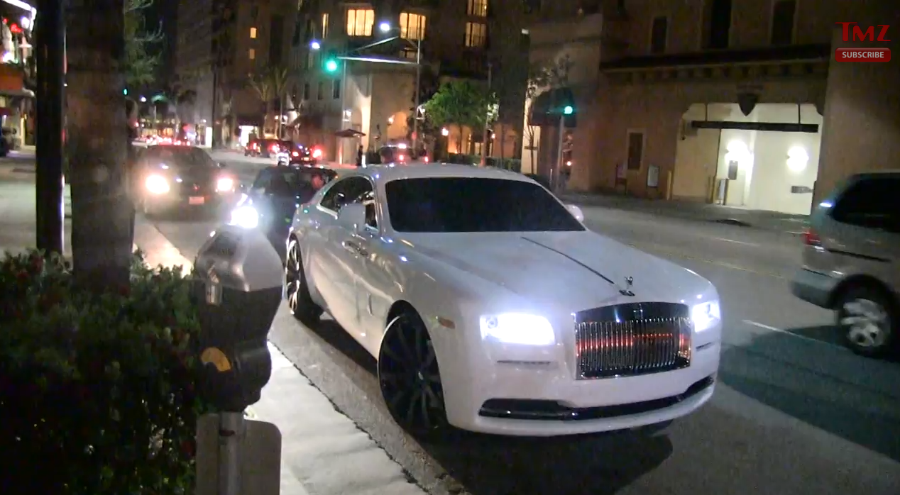 Rolls Royce Wraith For Sale >> Video: Carl Crawford Rolling In a Wraith | Celebrity Cars Blog