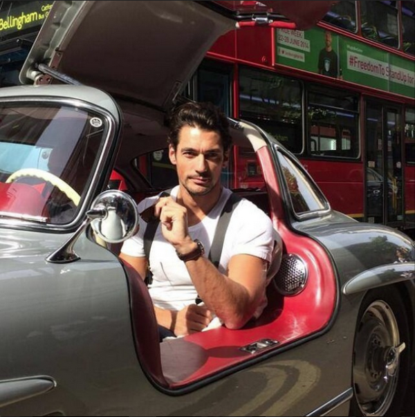David Gandy - Mercedes Benz - 300 SL Gullwing