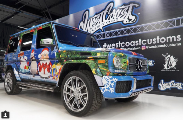 Justin Wrapped G-Wagon