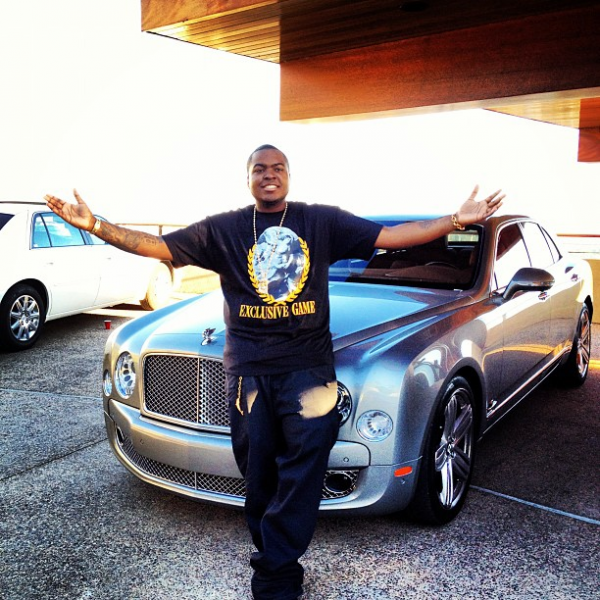 Sean Kingston Bentley Mulsanne