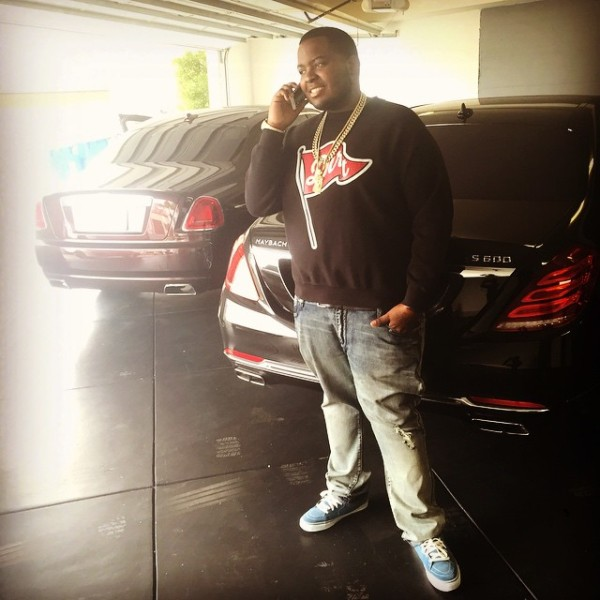 Sean Kingston Mercedes Maybach