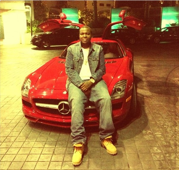 Sean Kingston Mercedes SLS