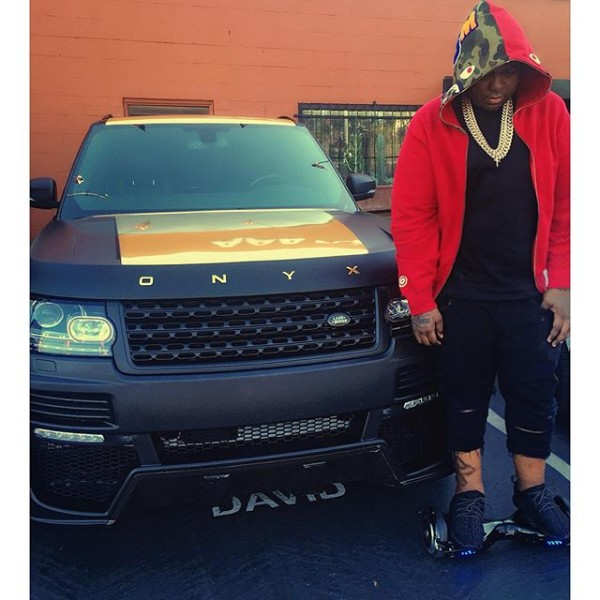 Sean Kingston Range Rover