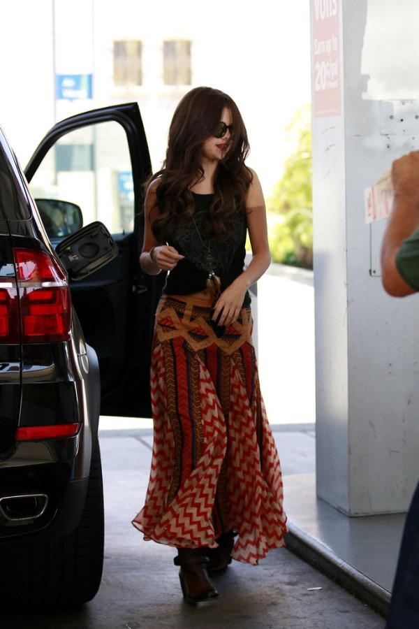Selena Gomez BMW