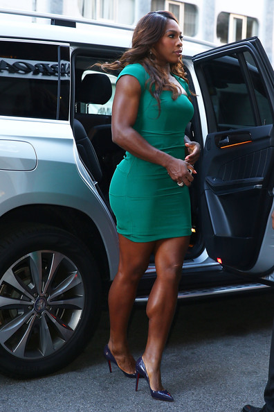 Serena Williams Mercedes Benz