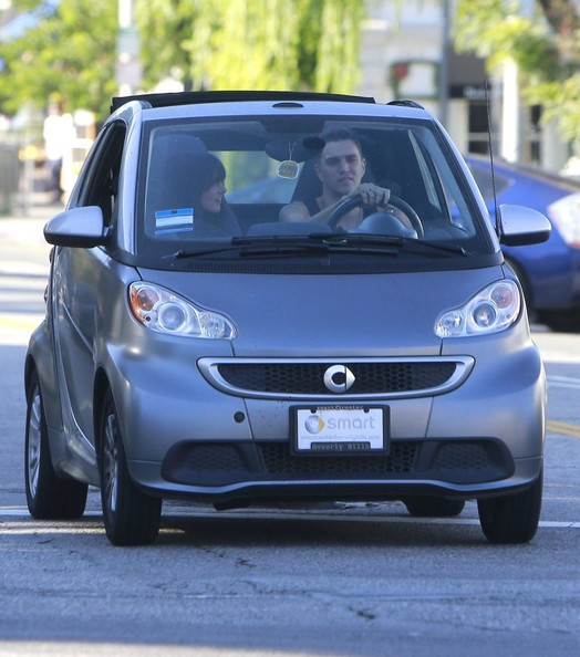 Shenae Grimes Josh Beech Smart Car