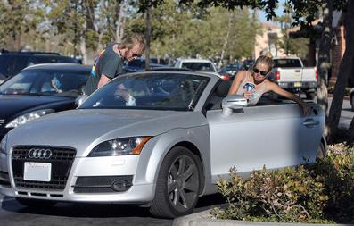 Sienna Miller's Audi TT
