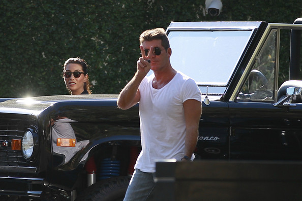 Simon Cowell Ford Bronco