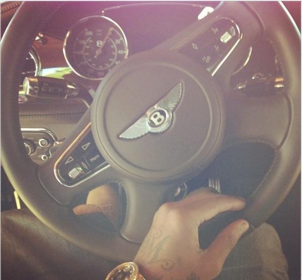 Soulja Boy's New Bentley Mulsanne