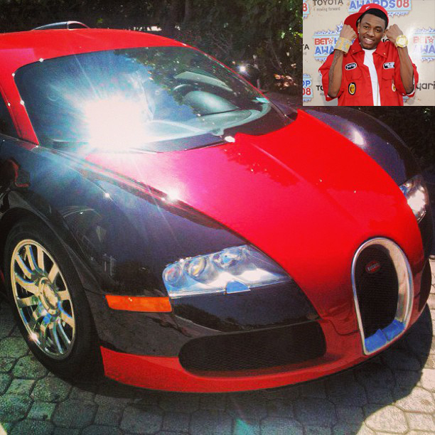Soulja Boy Adds A Bugatti To His Collection Celebrity