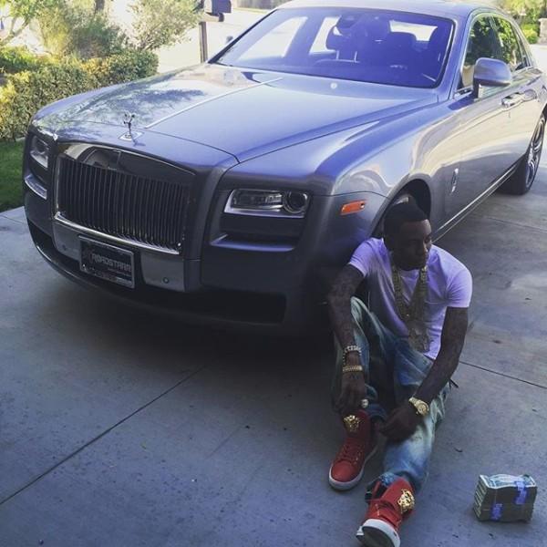 Soulja Boy Rolls Royce Ghost
