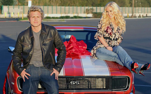 Spencer Pratt Camaro SS Wedding Gift From Heidi