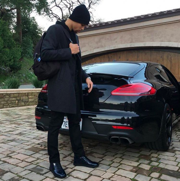 Steph curry porsche